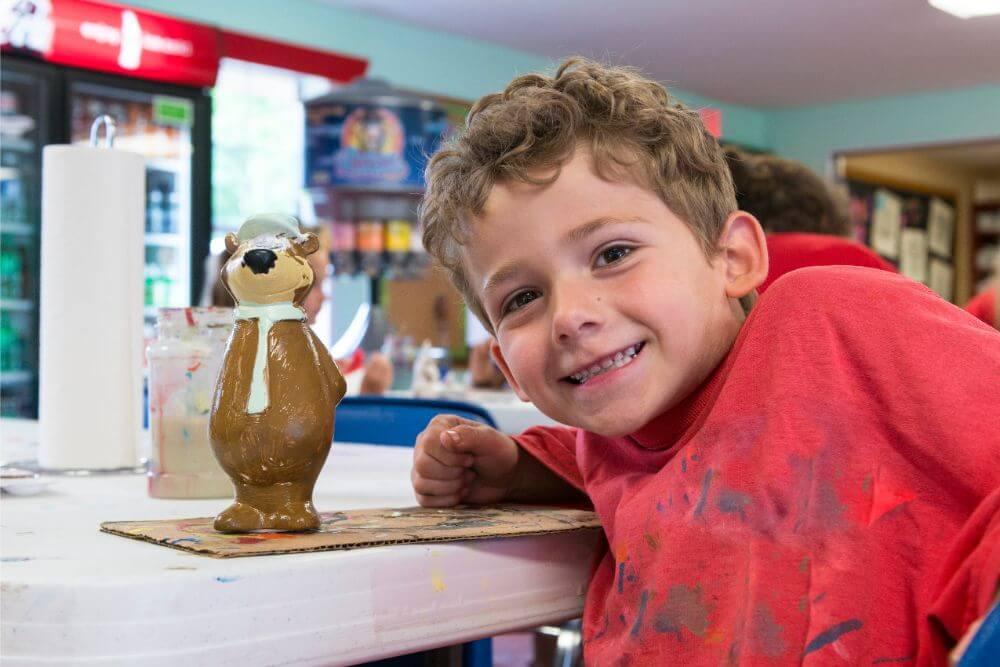 Jellystone Yogi on the Lake kid crafts