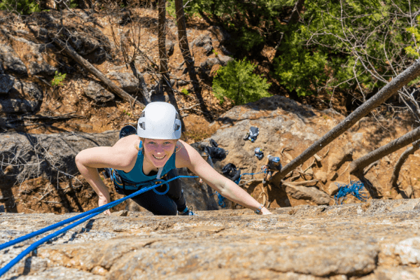 Hiking, Boating, and Rock Climbing in Mineral Wells